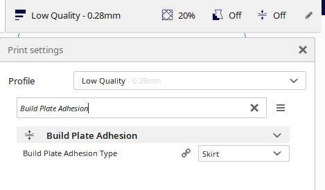 Build Plate Adhesion