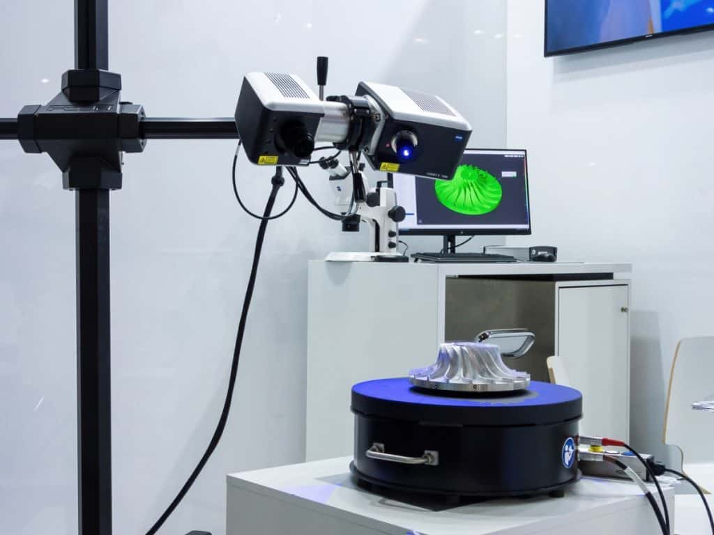 3D scanner system on exhibition